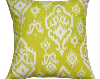 "SALE! Pillow Cover in Premier Prints ""Raji"" 18X18 Throw Pillow Cover - Pick A Color - Decorative Pillow"