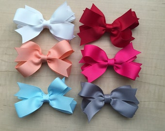 Hair bow lot YOU PICK COLORS!!