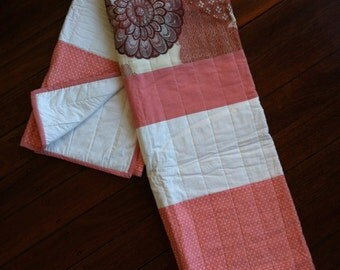 Large Pinks Quilt
