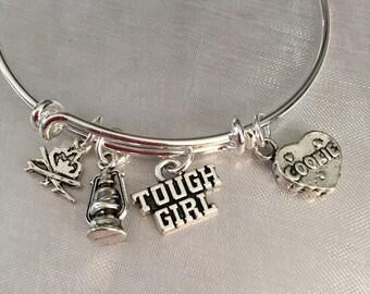 camper tough girl bracelet