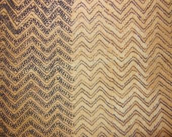 African Tribal Kuba Cloth Cut-Pile & Raffia Prestige Cloth Textile Currency N2