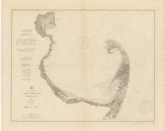 Cape Cod Map 1910