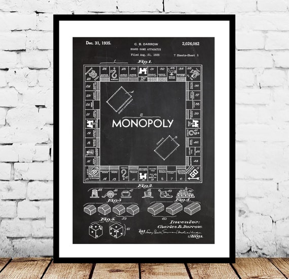 Monopoly poster monopoly patent monopoly print monopoly te gusta este artculo malvernweather Image collections