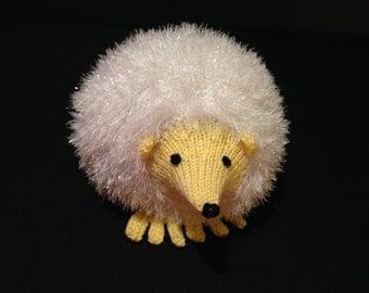 Child soft stuffed toy hedgehog