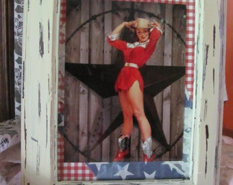 Pin up Cowgirl art