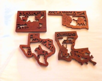 Scroll Saw State Cut-outs