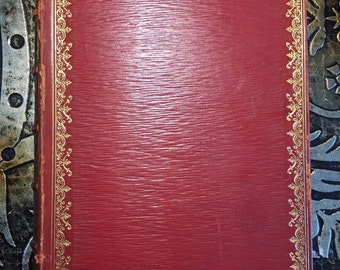 The Essays of Elia, Charles Lamb, c1910, Leather, Rare