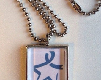Colon Cancer Awareness Pendant Necklace