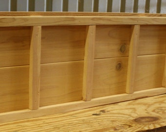 Brand New 24 inch Cedar Planter Box - Decorative style wooden flower bed