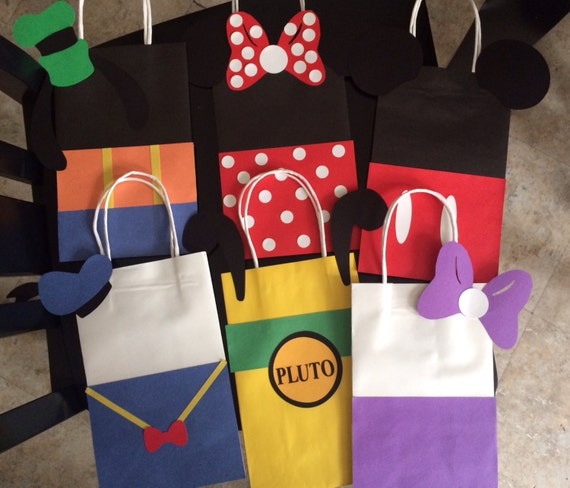 Mickey Mouse Clubhouse Favor Bags