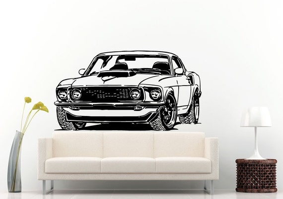Muscle Car Decal Trend