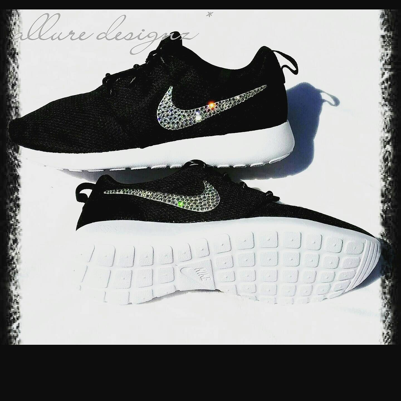 Nike Roshe Run Women Black And White Ombre prof-removals.co.uk