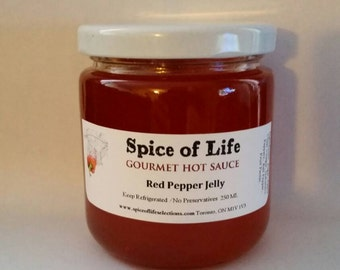 Gourmet Red Pepper Jelly