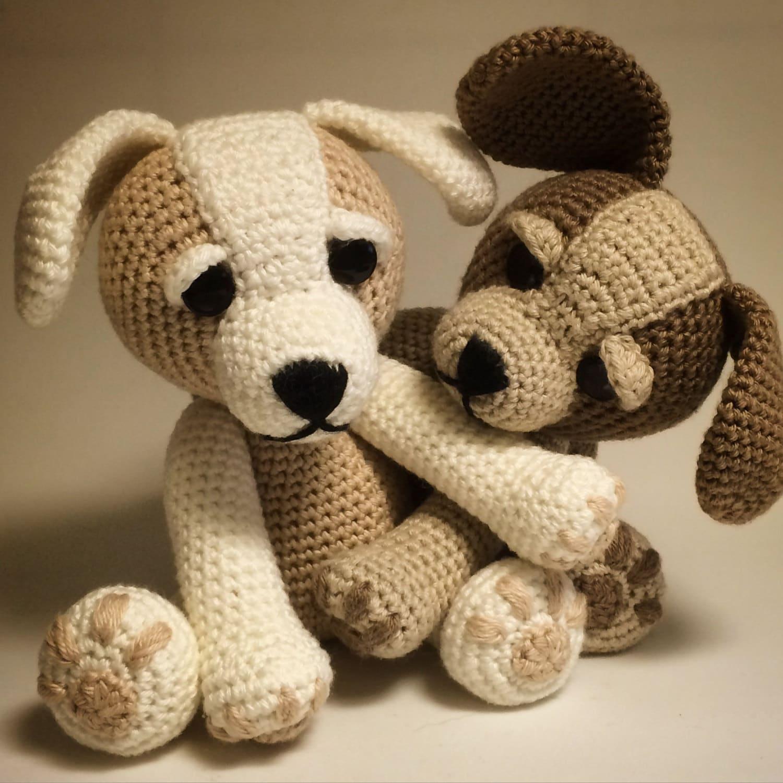 Zizidora Crochet Patterns : Crochet Pattern Sammy the Puppy Dog Crochet dog by Zizidora