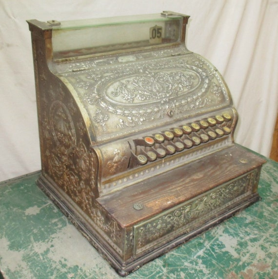 Ncr 333 National Cash Register Vintage Country Store Counter