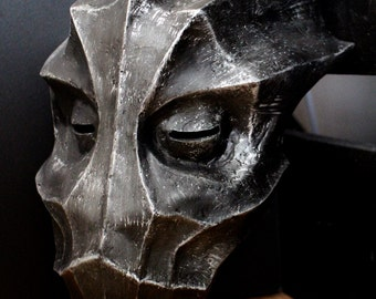 Skyrim inspired Dragonborn mask handmade replica with free worldwide shipping
