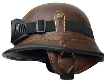 """Helmet Bulzeye-Helmet,WW"""" Helmet,Chopperhelm Size M 57-58 CM  Bike Helmet Casco"""