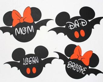 Halloween Cruise Magnets, Halloween Stateroom Door Magnets, Halloween Disney Cruise Magnets, Family Cruise Magnets, Disney Cruise Magnets