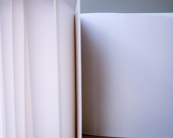 CUSTOM EVENT GUESTBOOK | handmade coptic bound blank book personal artwork image photo graduation wedding retirement memorial