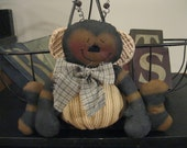 Bumble Bee Pin Keep - Bumble Bee Shelf Sitter - Bumble  Bee Decoration - Bee Doll