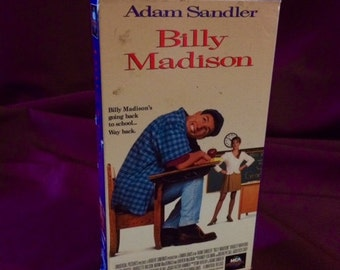Billy Madison [VHS] - Adam Sandler