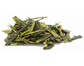 Dragon's Well Green Tea - Lung-Ching loose leaf tea - green tea - Chinese green tea