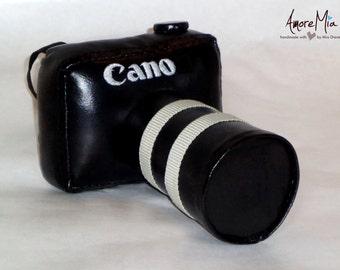 Camera soft toy handmade