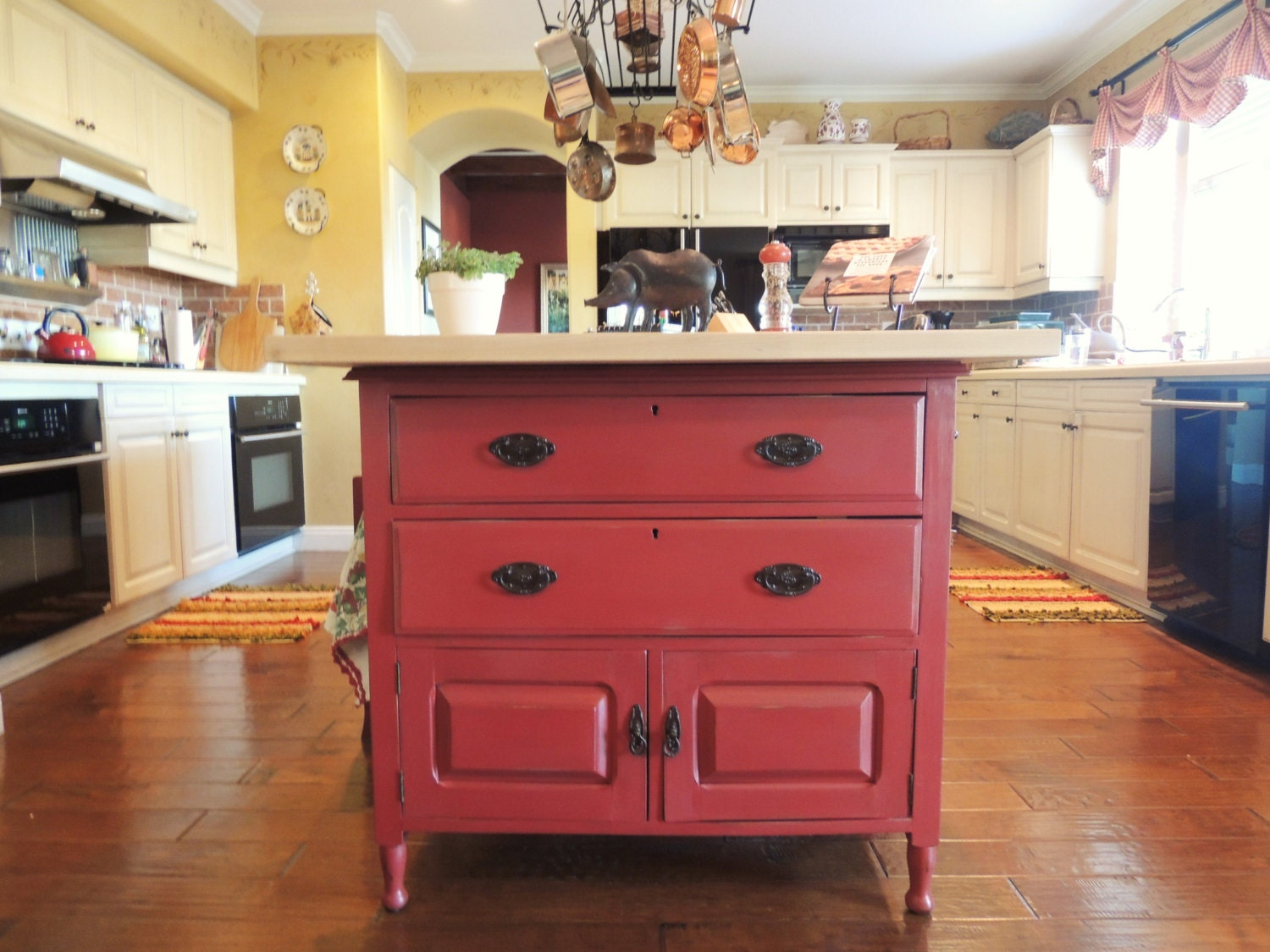 1920 39 S Vintage Repurposed Kitchen Island By