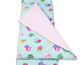Napmat monogrammed boys girls baby toddler kindergarten preschool nap mat school sleep washable pillow and blanket