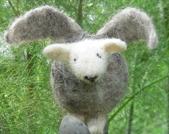 Angel Sheep or Flying Herdwicks! - Kit to make two decorative sheep