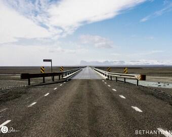 Icelandic Drive 11x14 Matted Print