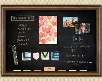 Maxwell Framed Magnetic Chalkboard