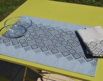 Set of 2 placemats Hypnoz / 32 x 42 cm / water repellent