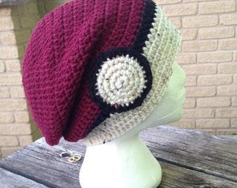 Crochet Anime Hat, Beanie, Slouchy Hat