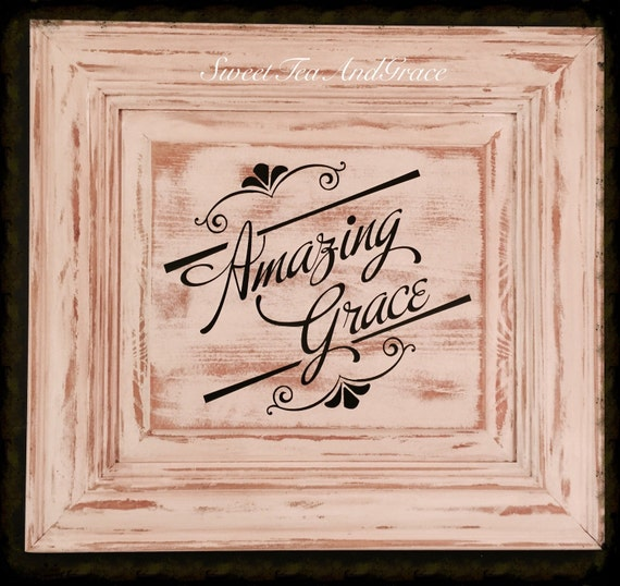 Signs You Re Amazing: Items Similar To Amazing Grace Sign