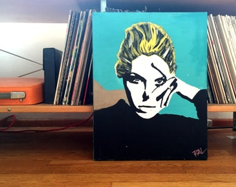 Custom Pop Art Portrait Painting