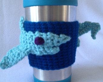 Shark Wrap Coffee Sleeve