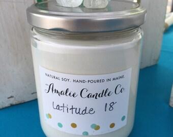 Latitude 18  (Coconut Lime Verbena)