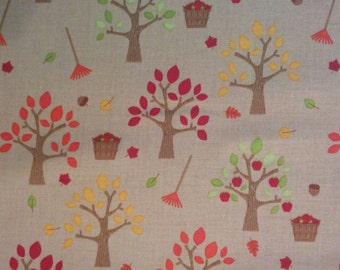 Brown Happy Harvest Fabric by Riley Blake (Pattern: C4031)