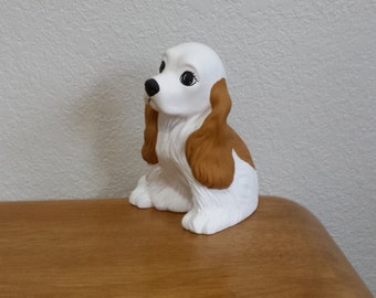 Ceramic Spaniel (Golden Brown and White)(#539A)
