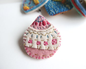 Candy Drop Brooch
