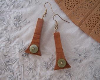 OOAK Greenhorn Earrings