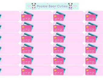 Credit Card Label Stickers!-063