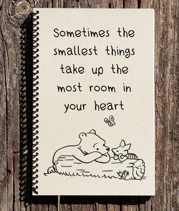 Winnie The Pooh Quotes Sometimes The Smallest Things: Winnie The Pooh Small Things Quote Smallest Things Take Up