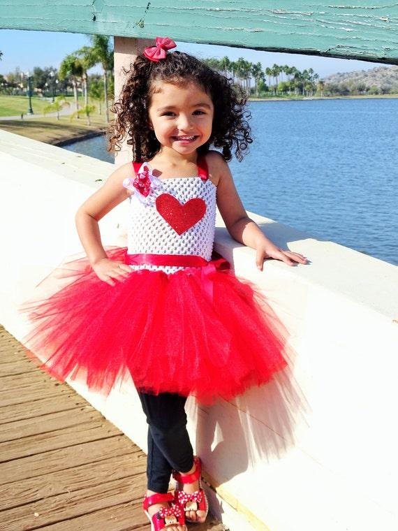 Sweet Heart Inspired tutu dress Valentine tutu costume - photo #13