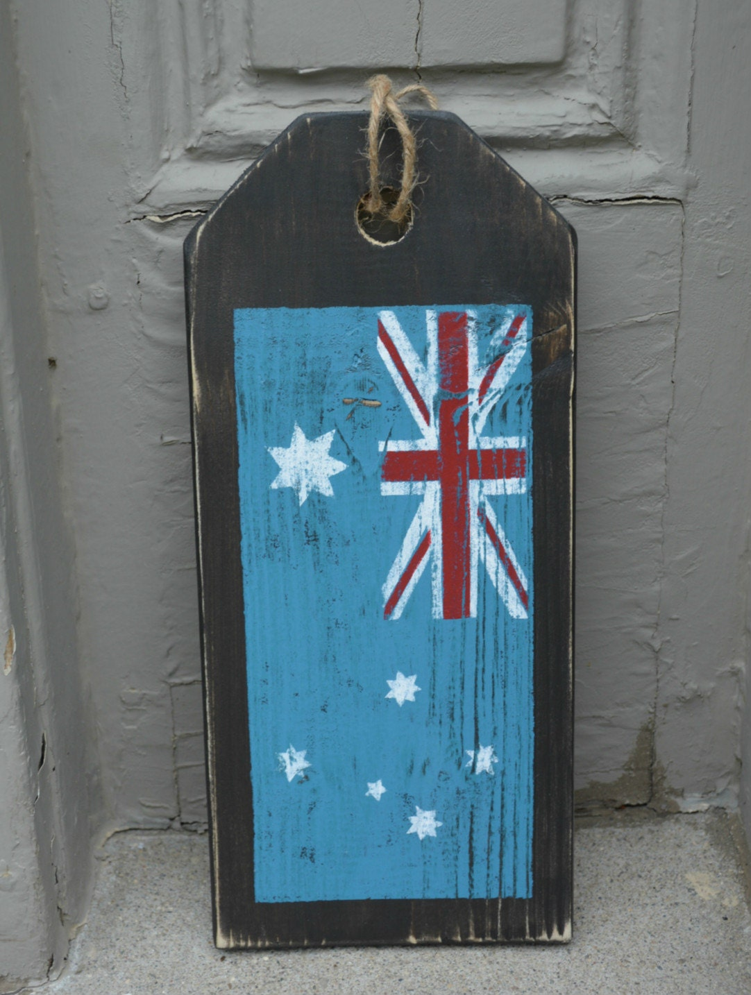 1434 #367695 Australian Flag. Front Door Sign. Rustic By MoonenDavisdeSIGN pic Front Doors Australia 41811082