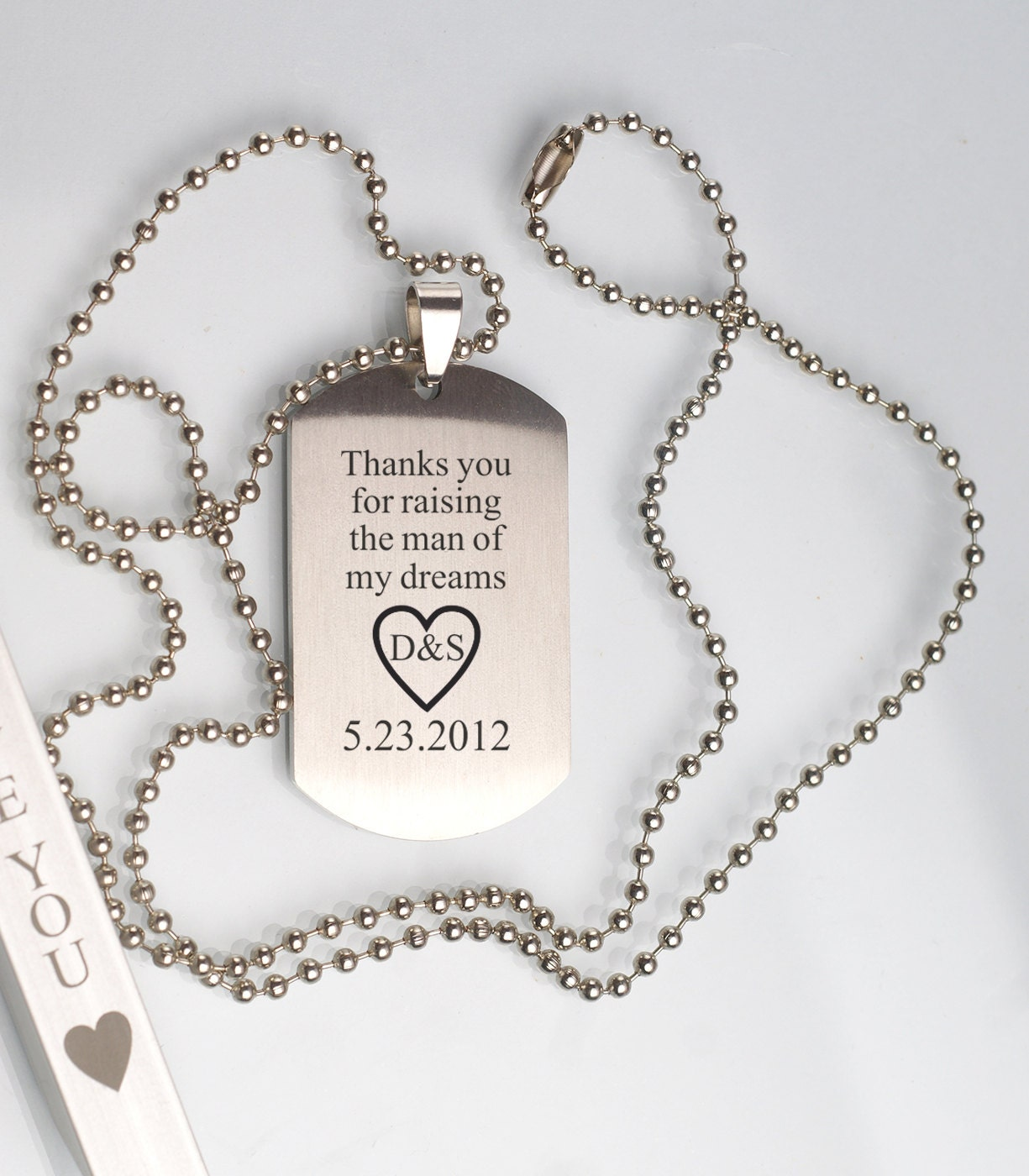 heart personal couple necklace detail pendant gift name pictures of