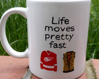 Hand Painted mug inspired by Ferris Bueller's Day Off