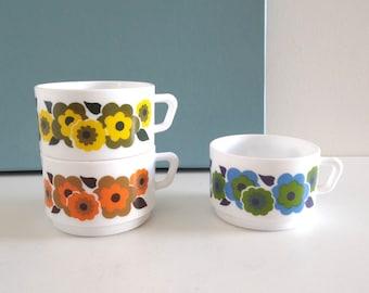 Seventies Tea Cups