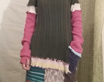 spring sweater dress